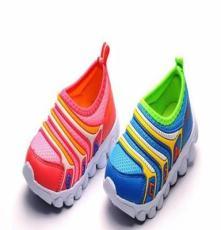 新款韩版春秋童鞋 镂空透气儿童鞋 网布鞋 可爱休闲运动男女童鞋