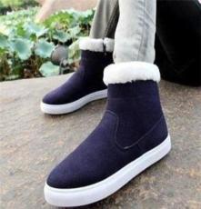 冬季时尚潮流男女雪地靴保暖靴子