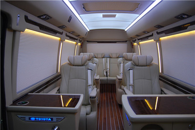 江苏专业的2020款丰田考斯特改装厂价格