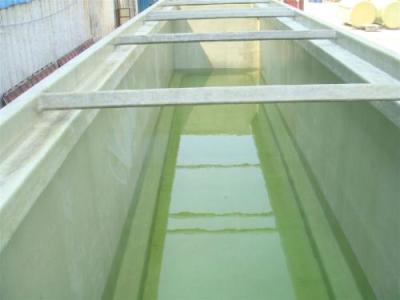 新型垃圾场调节池玻璃钢防腐