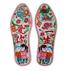 厂家热销庆阳香包刺绣鞋垫幸福之花