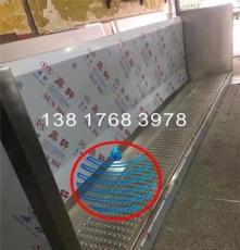 宜昌学校卫生间感应冲水不锈钢小便槽厂家