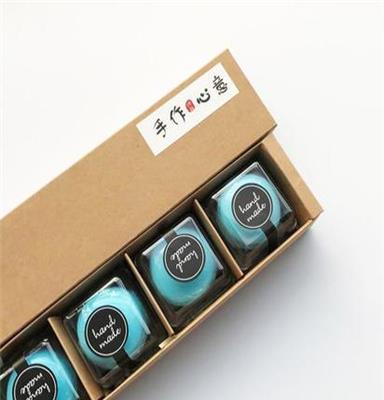 马卡龙香皂 创意精油皂礼盒装 企业公司宣传礼物 可定制logo