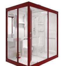 那波利N1622款整体卫生间大空间舒适,所有洁具全部配齐