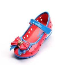 新款公主鞋 洞洞鞋女童鞋厂家直销公主鞋透气防滑