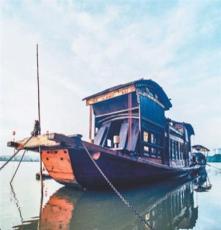 嘉兴南湖红船厂家直销一大会议红船1:1手工复原