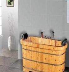 總統牌木桶雙人香柏木浴桶 泡澡桶帶龍頭花灑潔具