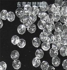 燈飾掛件加工28MM八角水晶珠工藝品定制