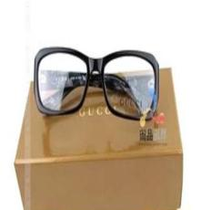 古-奇近視眼鏡架 進口板材全框女款式平光鏡 眼鏡框黑色