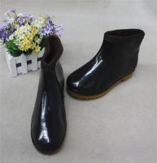 厂家直销 加棉保暖雨鞋中筒 珠康加棉男雨靴