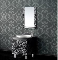 玻璃浴室柜L-Y017、诚江卫浴、浴室柜、化妆柜、玻璃钢化柜