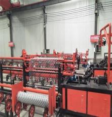 热卖全自动勾花网机 出口标准菱形网机 铁丝钢丝编网机