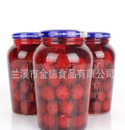 代加工各類水果罐頭 真心罐頭 楊梅罐頭 綠色食品罐頭