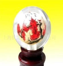 水晶內畫球 擺掛件飾品 藝術收藏品 家居擺掛件