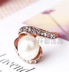 三色可选饰品 水晶钻戒 外贸欧美戒指批发 潮流时尚JZ1370