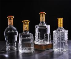 厂家批发普白料玻璃酒瓶