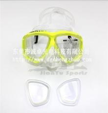 玻璃厂家供应1000度潜水眼镜近视玻璃镜片