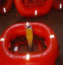 10人水上漂浮玻璃钢救生浮 ZC海事认证