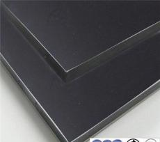 美国ACA工程装饰黑色镜面铝塑板可用阳极氧化铝板