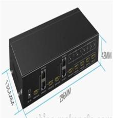 迈拓维矩4x4 HDMI矩阵切换器MT-ED404
