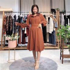 劳伦2020年春季新款亚马逊女装连衣裙