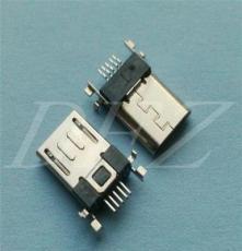 MICRO 5P公頭板端SMT貼片