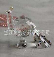 廠家直銷水晶工藝品 水晶天鵝 禮品 飾品