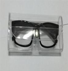 透明塑料盒子 老花镜盒子 镜盒 0.8/个