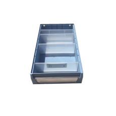 分格零件盒塑料箱塑料筐食品箱卡板箱垃圾桶