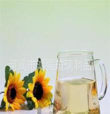 耐高温方形公道杯分茶器 简约玻璃茶海 玻璃杯花茶壶功夫茶具