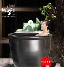 景德镇厂家定做泡澡大缸 温泉洗浴泡澡陶瓷缸