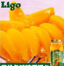 罐頭批發 高品質黃桃水果罐頭美國品牌,出口品質 休閑食品