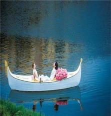 江苏楚歌厂家直销5米湖南景区欧式威尼斯贡多拉 餐饮观光游船