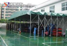 九江修水廠家定制移動推拉篷遮陽棚推拉帳篷