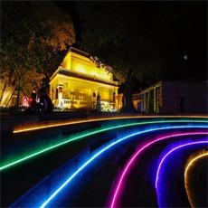 怎樣的景區燈光亮化才能使夜游煥發生機
