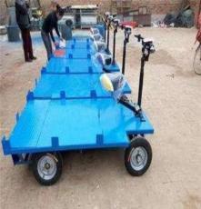3噸電動平板搬運車 大容量48V串勵 平板電動貨車