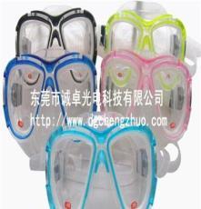 东莞玻璃厂家供应250度潜水眼镜玻璃镜片