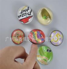 免費寄樣 --晶瑩剔透高可貼留言條的水晶玻璃冰箱貼,磁石貼