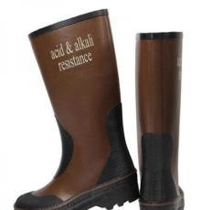 供應飛鶴牌耐酸堿靴 耐化學品橡膠靴  廠家直銷時尚防化靴