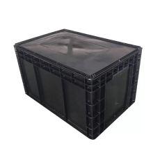 保定防静电周转箱EU周转箱塑料筐价格汽配箱