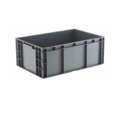 供应EU汽配周转箱斜插周转箱带盖箱配件箱厂