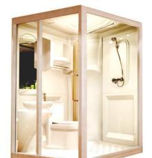 PMMA防水整体卫生间,集成卫浴一体式沐浴房,干湿分离洗手间欧式