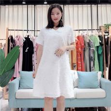 索罗密欧2020春季韩版女装宽松小清新连衣裙