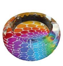 時尚高檔水晶工藝品 商務禮品煙灰缸 水晶創意家居飾品擺件代理
