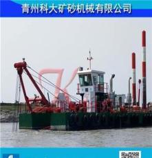 科大出口刚果小型挖泥船 绞吸挖泥船国外市场 中国绞吸船技术