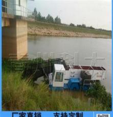 小型水库垃圾打捞船 科大优质割草打捞垃圾水面保洁三合一船舶