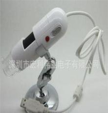 厂家直销 usb高清数码显微镜 电子放大镜 便携式200万USB高清高倍