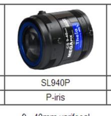 美國Theia SL940P 五百萬像素長角無畸變不變形工業級變焦鏡頭