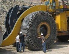 35/65-33保護鏈生產基地保護鏈配件價格鏟車輪胎防滑鏈