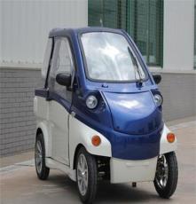 朗邁2人座超微型電動老年代步車 外觀時尚秀氣 封閉式四輪電動車